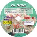 【返品交換不可】HIDISC データ アナログ録画用DVD-R HD DVD-R120 4X10PS