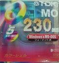【生産終了品・在庫限り!】TDK 3.5インチ MOディスク 230MB Windows/MS-DOSフォーマット済 5枚パック MO-R230DX5PMA