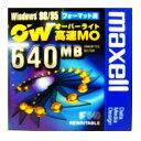 【生産終了品・在庫限り】マクセル 3.5インチ 高速 MOディスク 640MB 1枚 Windowsフォーマット済み オーバーライト対応 RO-M640WIN.B1P