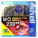 【アウトレット*パッケージケース破損品*返品交換不可】 マクセル 3.5インチ MOディスク 230MB 10枚 Windowsフォーマット済み