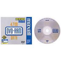 【訳アリ】日本製 マクセル くり返し記録用 DVD-RAM 1枚 4.7GB 3倍速 maxell DRM47B.1P 激安アウトレット