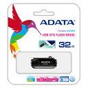 【数量限定☆超特価】ADATA DashDrive Durable UD320 USBフラッシュメモリ 32GB AUD320-32G-CBK 【メール便OK】