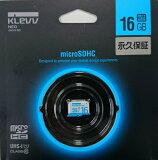 """�㿷���ʡ�ESSENCORE KLEVV NEO microSDHC������ 16GB CLASS10 UHS-1�б� """"Ķ��®ž�� Read83��97"""" U016GUC1U18-A�ڥ�����о�2�Ĥޤ�OK��"""
