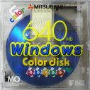 【訳アリ】三菱化学メディア MOディスク 640MB 3.5インチ Windowsフォーマット済 カラーディスク5枚パック KR640W5NM