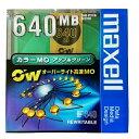 【カラーMOディスク】マクセル 日本製 3.5インチ MOディスク 高速 640MB 1枚 アンフォーマット オーバーライト対応 アップルグリーン M..