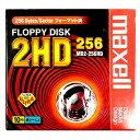 【生産終了品・在庫限り】 maxell 5インチ フロッピーディスク 256フォーマット済 10枚 MD2-256HD.C10K【メール便不可】
