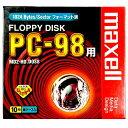 【生産終了品・在庫限り】 maxell 5インチ フロッピーディスク PC-98用フォーマット済 10枚 MD2-HD.DOS8.C10K【メール便不可】