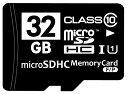 ☆バルク品☆microSDHCカード Class10 32GB SD変換アダプター/プラケース付き MFMCSDHC10X32G_BULK 【メール便OK】【返品交換不可】 M便 1/2