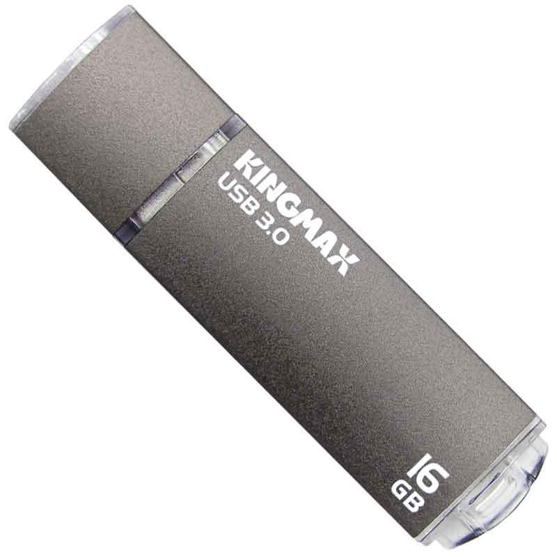 【数量限定☆在庫限り】Kingmax USBメモリー PD-09 16GB グレー USB3.0 ReadyBoost対応【メール便対象商品合計2個までOK】