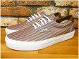 VANS ERA 59 Stripes (Pink/True White) 〜 VN-0UC6C4I ヴァンズ バンズ エラ ストライプス ピンク トゥルーホワイト 〜