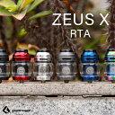 人気爆発中 GEEKVAPE Z X RTA Zeus X ギークべイプ ギークベープ ゼウス エックス 電子タバコ vape 液漏れしない アトマイザー RTA タンク シングル デュアル デッキ 直径 25mm
