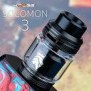 Kaees Solomon V3 カエース カエス キース ソロモン ソロモン3 電子タバコ vape RTA タンク 漏れない 漏れにくい シングル デュアル 直..