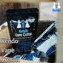 楽天Flavor-Kitchen【 電子タバコ VAPE 用 】 【 ケンドー コットン オーガニック 】Kendo Vape Cotton