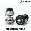 ADVKEN MadHatter RTA アドビケン マッドハッター RTA vape アトマイザー RTA 直径 24mm シングル DL 爆煙 タンク