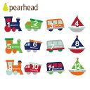 正規品 [メール便対応] pearhead(ペアヘッド) [ベビー・ベリーステッカー ライドオン] 記念日ステッカー 記念日 フォトシール 記念日シール