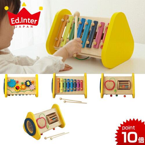 エドインター[森の音楽会][あす楽対応]楽器のおもちゃ木のおもちゃ木製玩具楽器おもちゃ鉄琴シロフォン