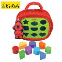正規品 K's Kids ケーズキッズ [パトリック・シェイプスアブー] [あす楽対応] 絵合わせ 型はめ 型はめパズル おもちゃ 知育玩具