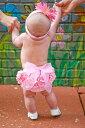 【メール便対応】Ruffle Butts(ラッフルバッツ) オーバーパンツ ブルマ ピンク&ピンクリボン【楽ギフ_包装】【10P03Dec16】