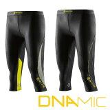 ������ �����ʥߥå� skins DNAmic ������� 3/4������ 3/4 Tights �������ʡۡ�2016 New��ǥ�� ����ץ�å���� ����ʡ� �ڤ�����_ǯ��̵�١ۡڥ���زġ�