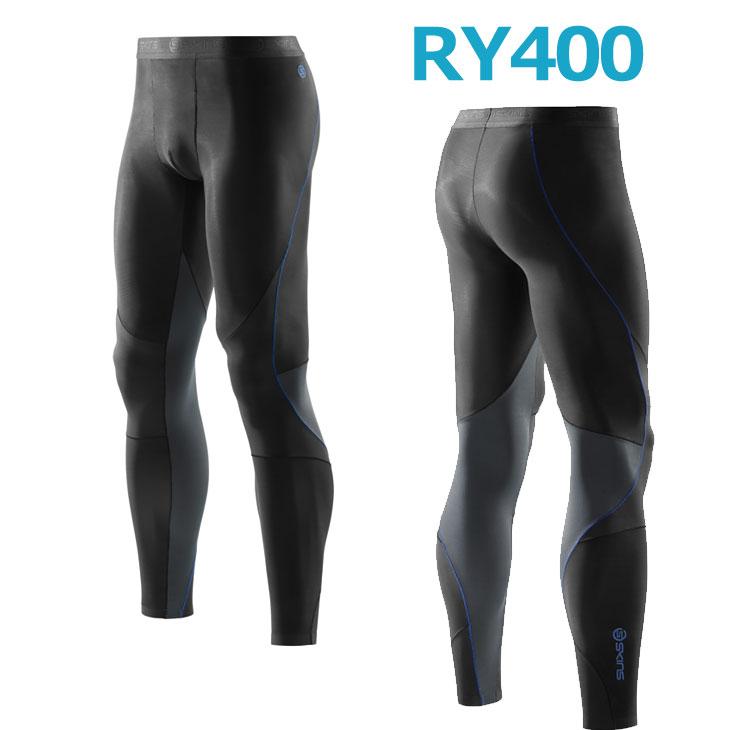 skins RY400 メンズロングタイツ New(スキンズ )K43205001D コンプレッション インナー リカバリー 【あす楽_年中無休】