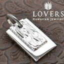 ショッピングわけあり ※訳ありアイテム ハワイアンジュエリー LOVERS ラヴァーズ プレートトップ M シルバー素材