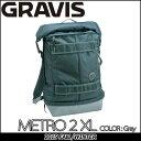 GRAVIS (グラビス )メンズ バッグ 【 METRO 2 XL 】 カラー【GRAY 】 バックパック 【あす楽_年中無休】