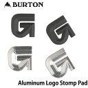19-20 BURTON е╨б╝е╚еє е╟е├ене╤е├е╔ б┌Aluninum Logo stomp mats б█