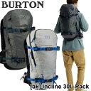 ショッピングパック BURTON バートン メンズ リュック 2020年春夏 [ak] Incline 30L Pack バックカントリー バッグship1