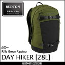 17-18 FALL/WINTER BURTON バートン 【 DAY HIKER 28L 】 COLOR :RIfle Green Rip...