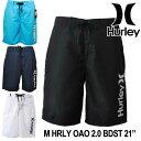 Hurley ハーレー サーフパンツ 海パン 水着 M HRLY OAO 2.0 BDST 21インチ (MBSOAOSS) メンズ 2018春夏