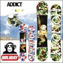 15-16 HOLIDAY (ホリデイ )ホリデー 【ADDICT 】アディクト SNOWBOARD スノーボード 板