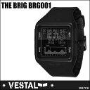 VESTAL ベスタル WATCH 腕時計 【THE BRIG 】BRG001】BLACKxBLACK タイド表 【あす楽_年中無休】【10%OFF】【送料無料】
