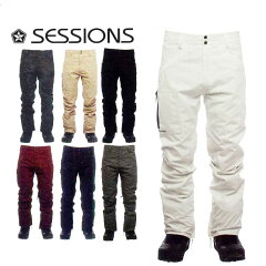 17-18 SESSIONS (セッションズ ) メンズ スノーボード ウエア 【AGENT PANT 】パンツ ウェア 日本正規品