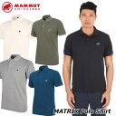 MAMMUT マムート メンズ ポロシャツ MATRIX Polo Shirt Men 正規品