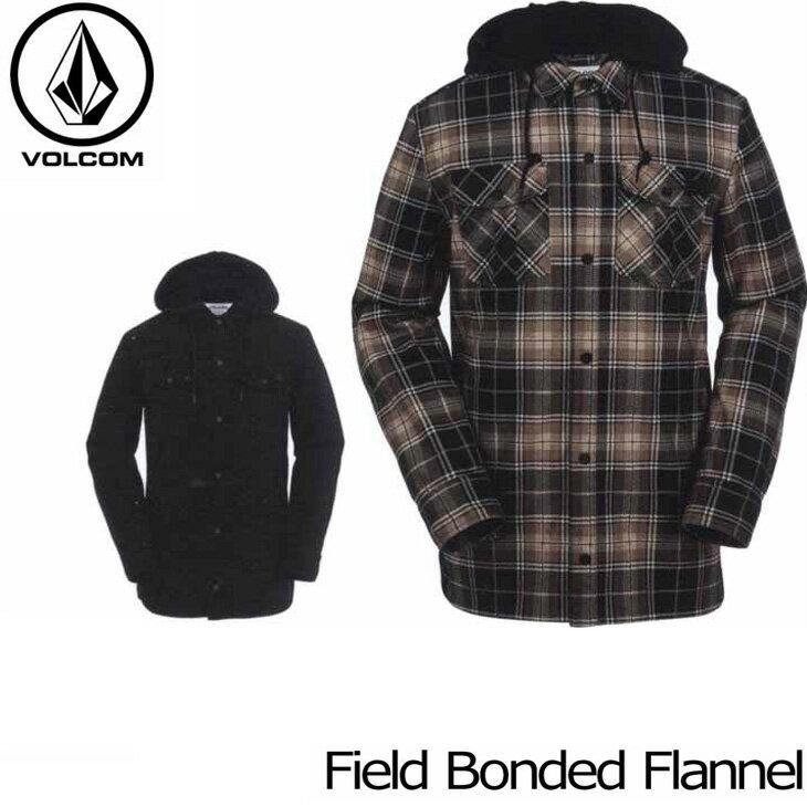 VOLCOM ボルコム フランネルジャケット 16-17 HR&S フード付きシャツジャケット 【Field Bonded Flannel 】 日本正規品 【返品種別SALE】
