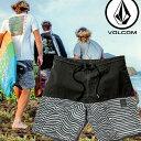 volcom ボルコム メンズ サーフパンツ ハーフパンツ 海パン 水着 【Vibes Half Stoney 19 】19インチ LENGTH VOLCOM ボードショーツ 【..
