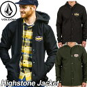 ショッピングvolcom volcom ボルコム コーチジャケット メンズ 【Highstone Jacket 】 アウター トップス 【返品種別OUTLET】