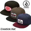 楽天FLEAboardshopvolcom ボルコム キャップ Cresticle Hat メンズ D5511626 【返品種別SALE】
