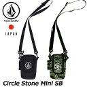 ショッピングJapan volcom ボルコム ショルダーバッグ Circle Stone Mini SB メンズ japan limited D65218JC 【返品種別OUTLET】