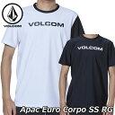 volcom ボルコム ラッシュガード Apac Euro Corpo SS RG メンズ 半袖 N01119G1 2019 春 夏 新作