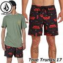 ショッピングサーフパンツ volcom ボルコム サーフパンツ True Trunks 17 メンズ ボードショーツ A2511900 【返品種別OUTLET】