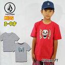 ボルコム volcom キッズ Tシャツ Stone Eyes S/S Tee LY 3-9歳 Y3511932 【返品種別OUTLET】