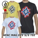volcom ボルコム tシャツ メンズ APAC MAG DYE S/S TEE 半袖 JapanLimited AF521901 【返品種別OUTLET】