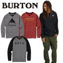 18-19 バートン Men's Burton Crown Bonded Crew Sweatshirt【返品種別OUTLET】