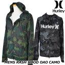 Hurley ハーレー ラッシュパーカー RASH HOOD OAO CAMO (CJ6147) メンズ 春夏モデル 正規品
