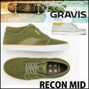 グラビス スニーカー メンズ GRAVIS 【RECON MID 】シューズ スケートシューズ 靴 【あす楽_年中無休】【40%OFF 】【返品種別SALE】
