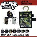 15-16 ORAN'GE ORANGE オレンジ 【#071267】Pass case-BS 】 パスケースビーエス スノーボード アクセサリー 【あす楽_年...