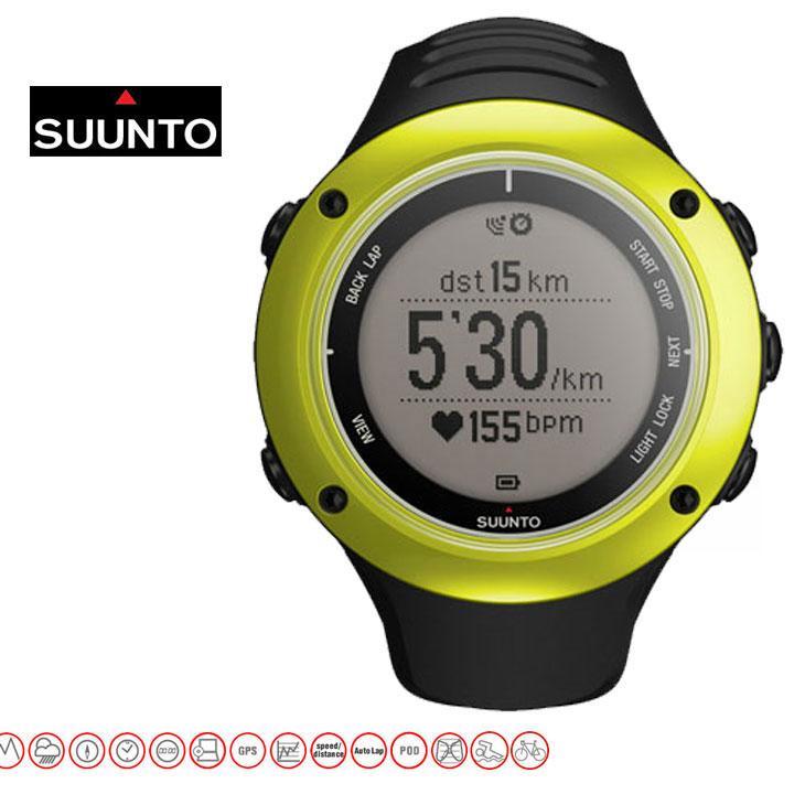 SUUNTO AMBIT2S スント アンビット 2S LIME (ライム )(安心正規品メーカー2年保証/日本語説明書付) 送料無料 【_年中無休】【返品種別SALE】 GPS搭載トップモデル「Ambit」をグレードアップ