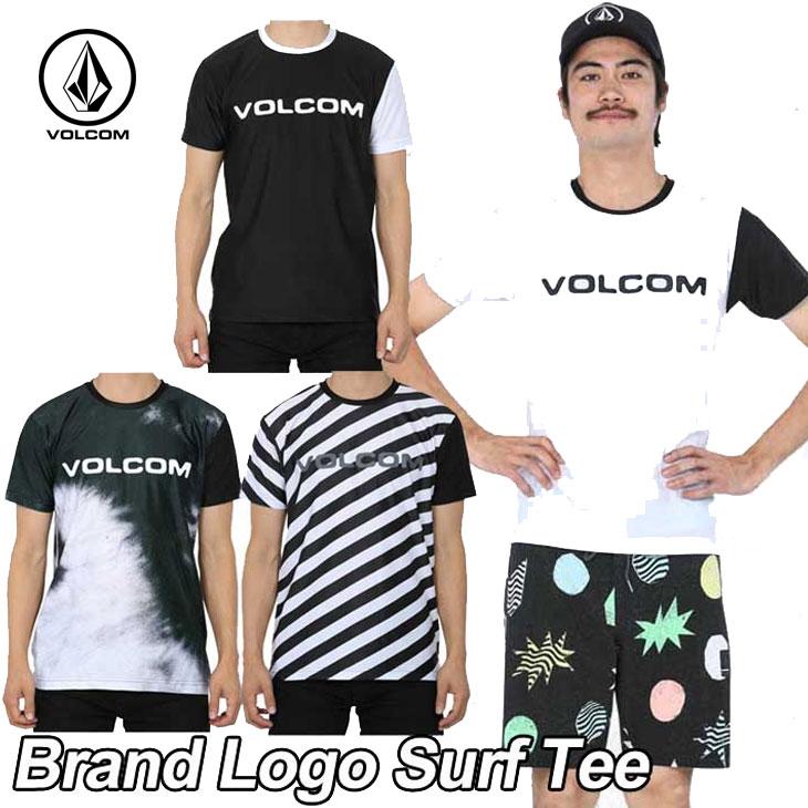 volcom ボルコム ラッシュガード メンズ 【Brand Logo Surf Tee 】 半そで ブランドロゴサーフティ 【返品種別SALE】
