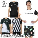 volcom ボルコム ラッシュガード メンズ 【Brand Logo Surf Tee 】 半そで ブランドロゴサーフティ 【返品種別OUTLET】